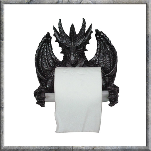 Dragons Toilet Roll Holder