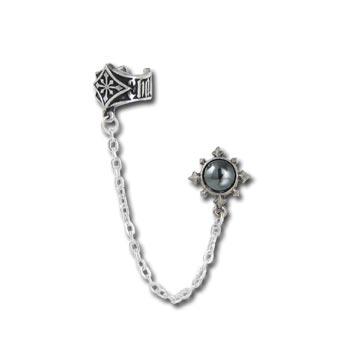 Amazon.com: The Dragon's Lure (Stud) Alchemy Gothic Earring: Jewelry