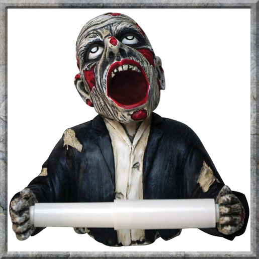 Zombie Toilet Roll Holder