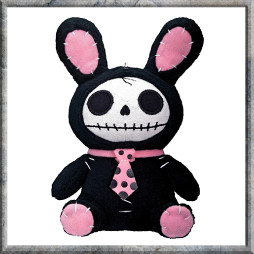 Black Bunny Plush (Small 17cm)