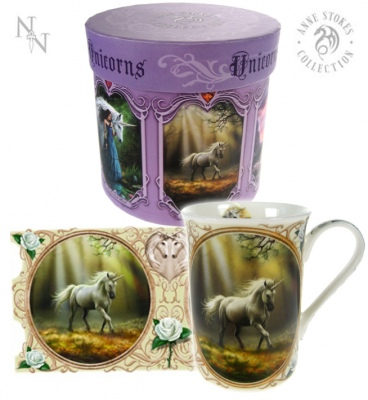 Glimpse of a Unicorn Mug - Anne Stokes