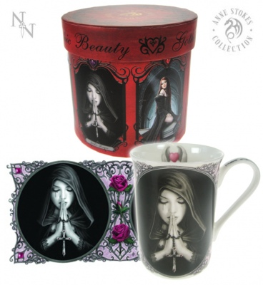 Gothic Prayer Mug - Anne Stokes