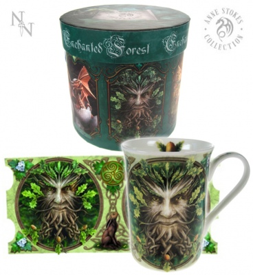 Oak King Mug - Anne Stokes