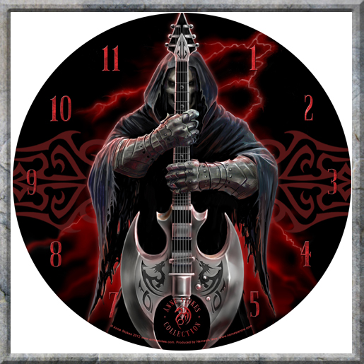 Rock God Clock