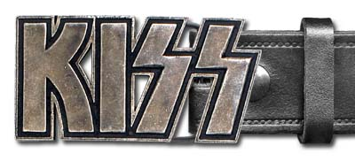 Kiss - logo Buckle