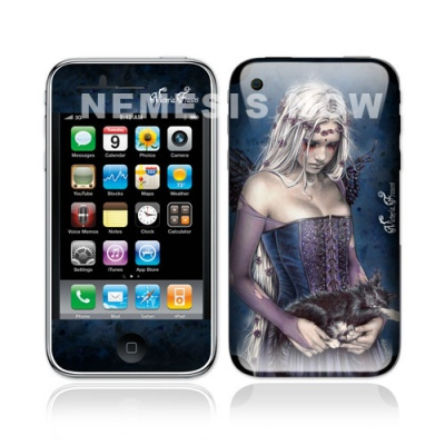 Gothic iPhone Skin - Angel of Death - Victoria Frances