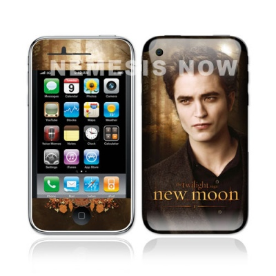 Twilight New Moon - iPhone Skin - Edward