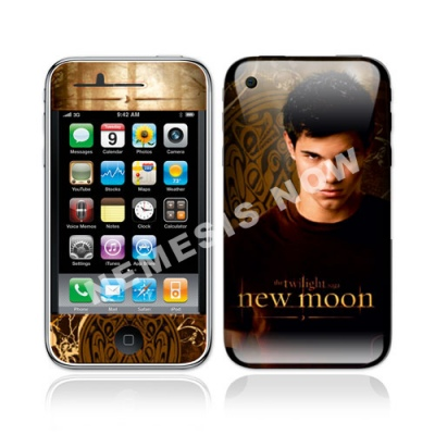 Twilight New Moon - iPhone Skin - Jacob