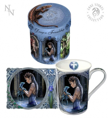Water Dragon Mug - Anne Stokes