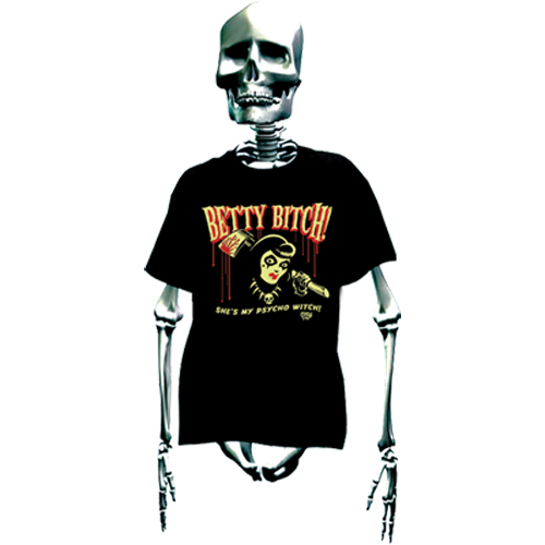 T-shirt Betty Bitch - Vince Ray